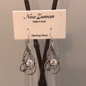 Noa Zuman sterling silver earrings